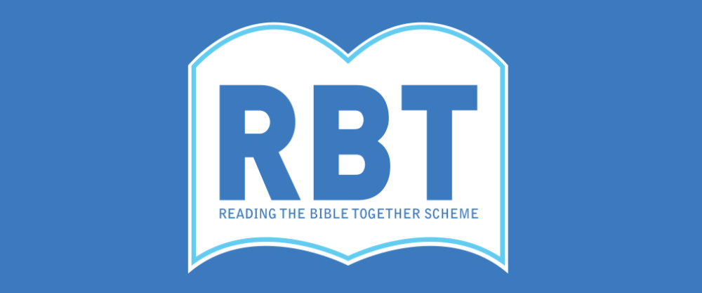 Click here to find out more about our Reading The Bible Together