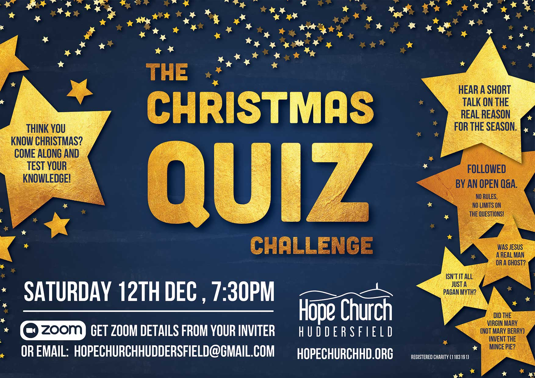 Christmas Quiz @ Huddersfield | United Kingdom