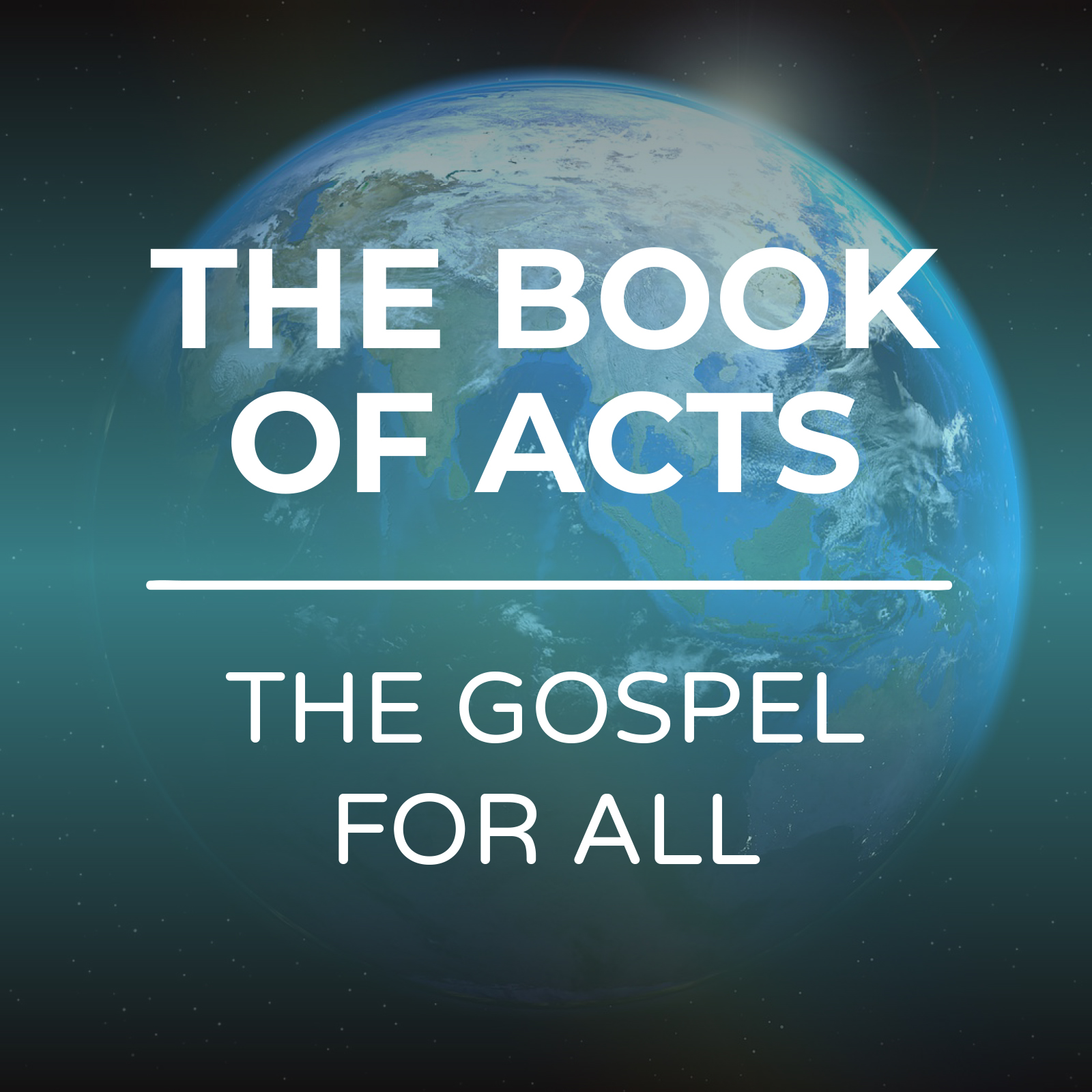 The Book Of Acts Sermon Series - The Gospel For All - Hope Church Huddersfield