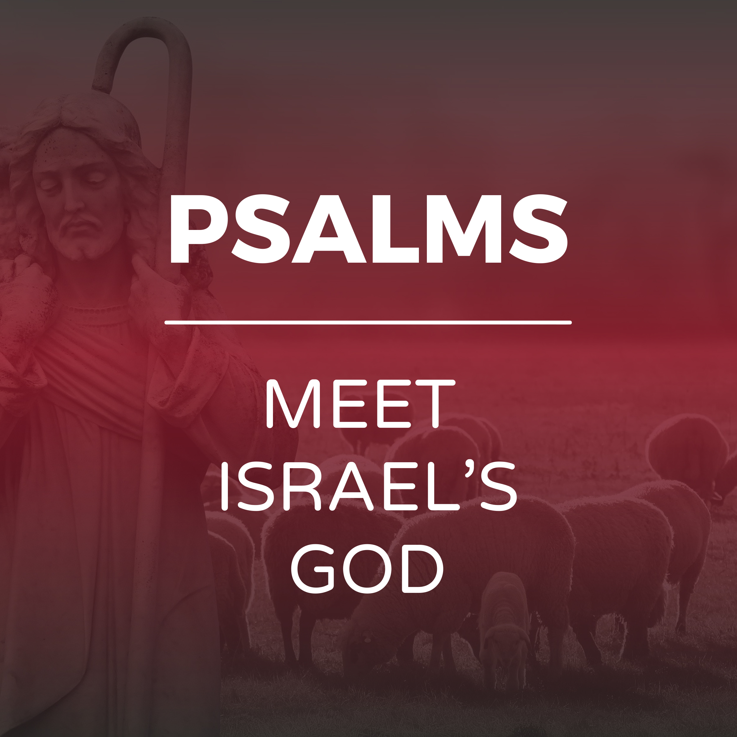 Psalms - Meet Israel's God sermon series - Hope Church Huddersfield