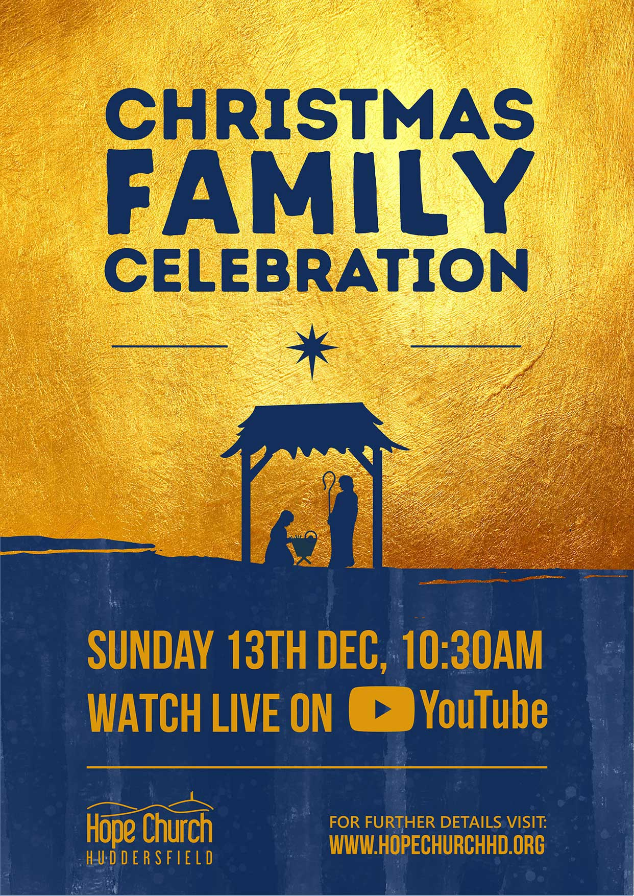 Family Carol Service @ Huddersfield | United Kingdom